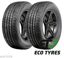 2X Tyres 235 60 R18 107V XL Continental ContiCrossContact LX Sport B C 72dB