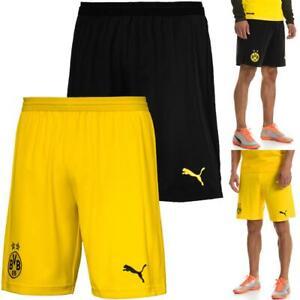 Puma BVB Dortmund Home Replica Shorts Kurze Hose Trainingshose Sporthose 18/19