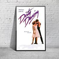 Classic DIrty Dancing Patrick Swayze Movie Film Poster Print Picture A3 A4