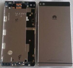 Coque-Arriere-Couvercle-Shell-Batterie-Cadre-Noir-Huawei-Ascend-P8