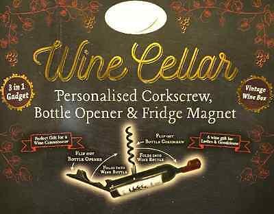 ~ corkscrew//bottle opener /& Fridge Magnet Bottle Opener//Corkscrew ~ NAMES D