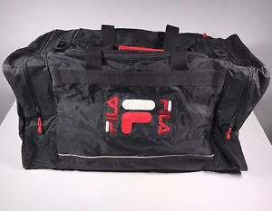 f041238d76a1 Image is loading FILA-Sport-Gym-Travel-Duffle-Bag-Vintage-90-