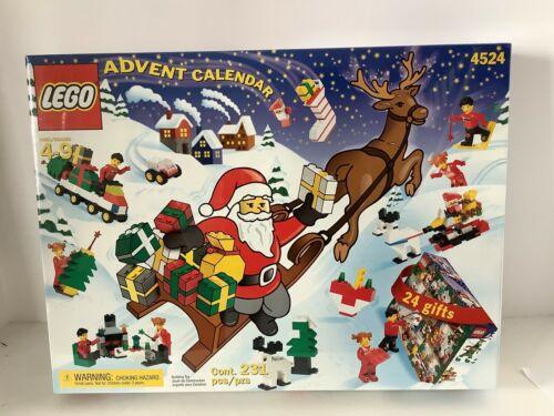 213 Pieces NEW! 2002 Lego Holiday Calendar 4524