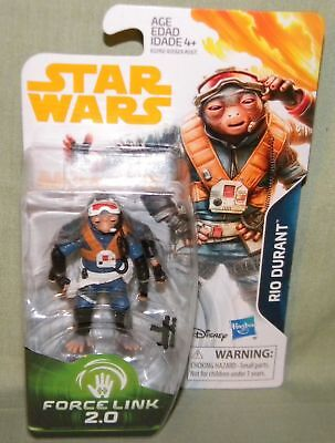 A Star Wars Story SOLO Rio Durant 3.75 Inch Action Figure Force Link 2.0 NEW