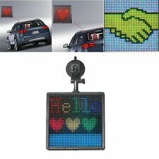 P4 Bluetooth Controlled Car Sign Message Board Indoor Programmable