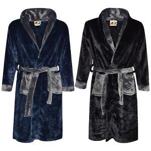 Enfants Garçons Filles Peignoir Designer Plain Peignoir Nuit Lounge Wear Taille 2-13 Ans-afficher Le Titre D'origine