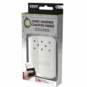 Chrome-Zippo-Refillable-Deluxe-Hand-Warmer-with-Fill-Cup-amp-Warming-Bag