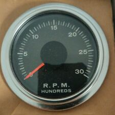 Suntune Cp7635 Diesel Tachometer Blackchrome