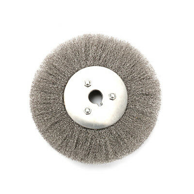 6 Inch Flat Crimped Stainless Steel Wire Wheel Brush For