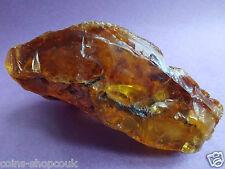 Huge  Antique Baltic Genuine Amber Raw Stone  琥珀色 Natur Bernstein 90 gram