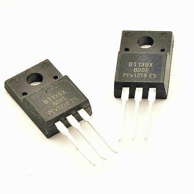 10PCS Bidirectional thyristor BT139X-800E BT139 16A//800V TO-220 new