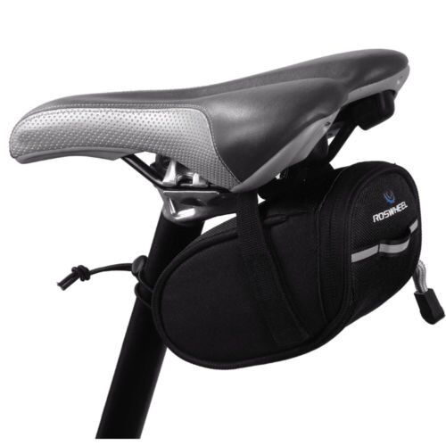 Outdoor Bike Bicycle Cycling Saddle Bag Tail Rear Pouch Seat Storage US
