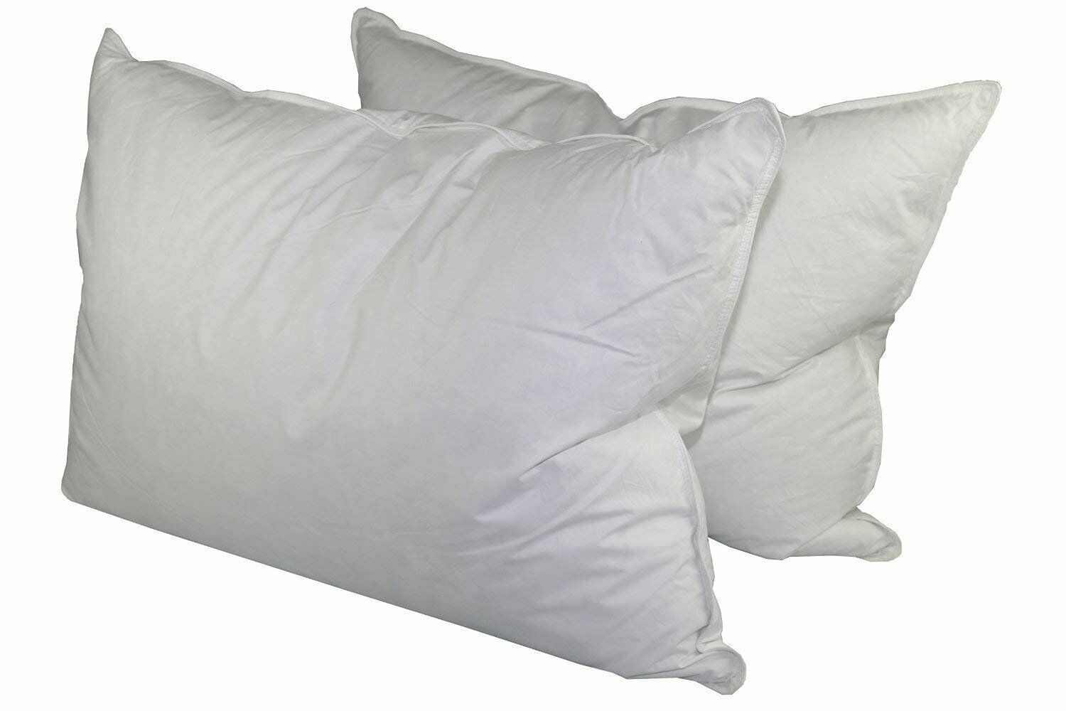 Manchester Mills Down Dreams Standard Size Medium Firm Pillow Set - 2 Pillows