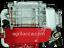 MOTORE-A-SCOPPIO-6-5-HP-4-8-KW-CILINDRICO-19-05mm-GX200-LB200-puleggia-omaggio miniatura 2