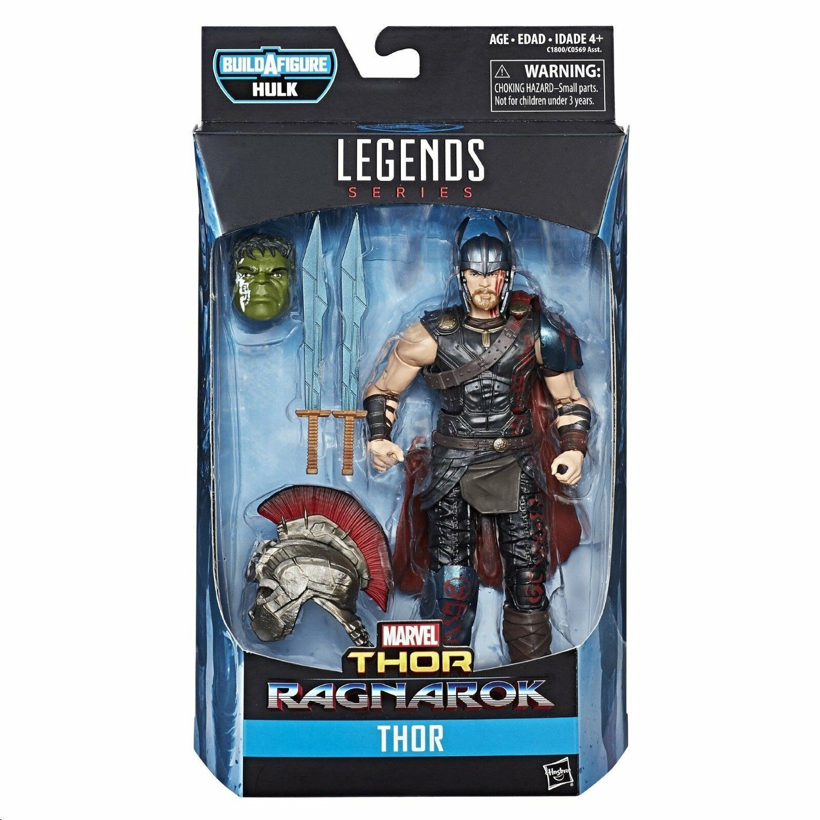 THOR : RAGNAROK ( 2017 ) VHTF MARVEL LEGENDS ( HULK SERIES ) ACTION FIGURE  1