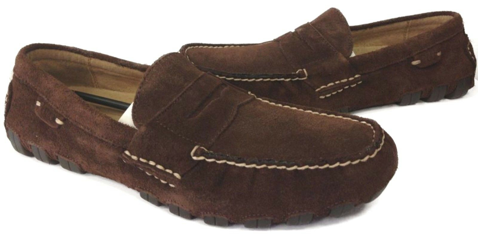 POLO RALPH LAUREN 803187127213 ARKLEY PENNY II Mn´s (M) Brown Suede Loafer Shoes