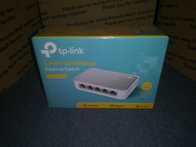 TP-Link TL-SF1005D 10//100Mbps Network 5-Port Ethernet Switch NEW