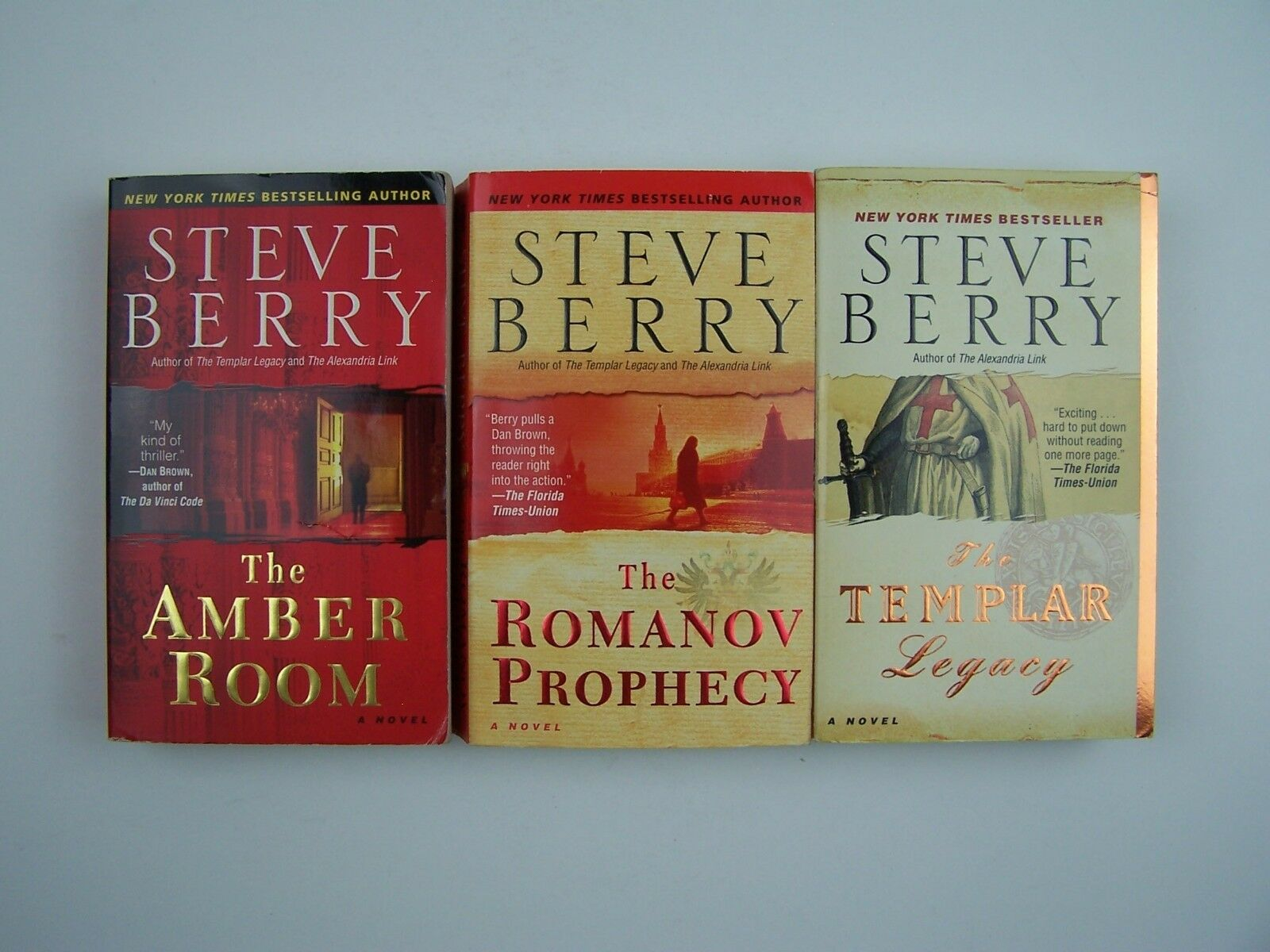 Steve Berry Thriller 3 PB Book Stand Alones & Cotton Ma