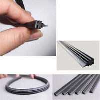 "2x 26"" 6mm Cut to Size Universal Van Car Replacement Rubber Wiper Blade Refill D"