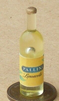1:12 Scale Moonshine Label On A Bottle Tumdee Dolls House Drink Accessory