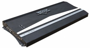 Lanzar-Vector-2-Ch-Two-Channel-6000w-Black-Bridgeable-Car-Speaker-Amplifier-Amp