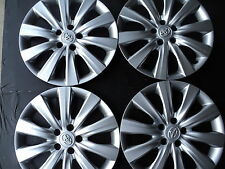 "FOUR 16 "" TOYOTA COROLLA  2011 2014  HUB CAPS  WHEEL COVERS RIM COVERS 570-61159"