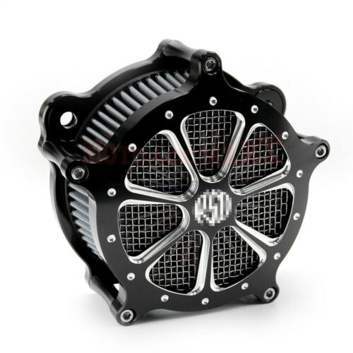CNC Cut Air Cleaner Intake Filter For Harley Touring Road Electra Glide 93-07