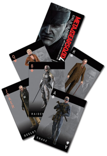 Metal Gear Solid 4 Playing Cards GE2028