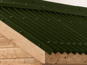 Green Onduline Roofing Sheet 3mm 950 X 2000mm Bitumen Roofing Sheet Cheap Ebay
