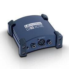 Caja DI activa LD Systems inyección directa banda Studio PA Sistema de sonido