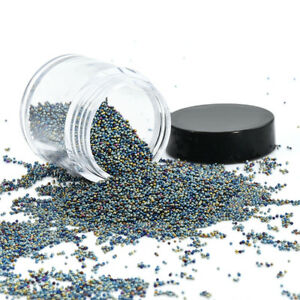 Colorful-Micro-Beads-Rhinestone-3D-Tips-Nail-Art-Decoration-For-UV-Gel-Manicure
