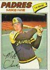 1977 Topps Mike Ivie #325 Baseball Card