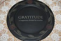 Sabrina Wingren 11 Woodenware Plate 31925 Hearthside Collection Gratitude