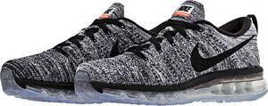 Max negro Blanco Novedades 620469 de 5 running Nike 8 Zapatillas Hombres 7 105 Mujeres Flyknit TwxzXq1w