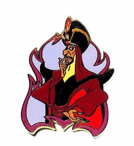Very Rare Le 250 Disney Auction Pin Aladdin Evil Villain Jafar Flame Frame Fire Ebay