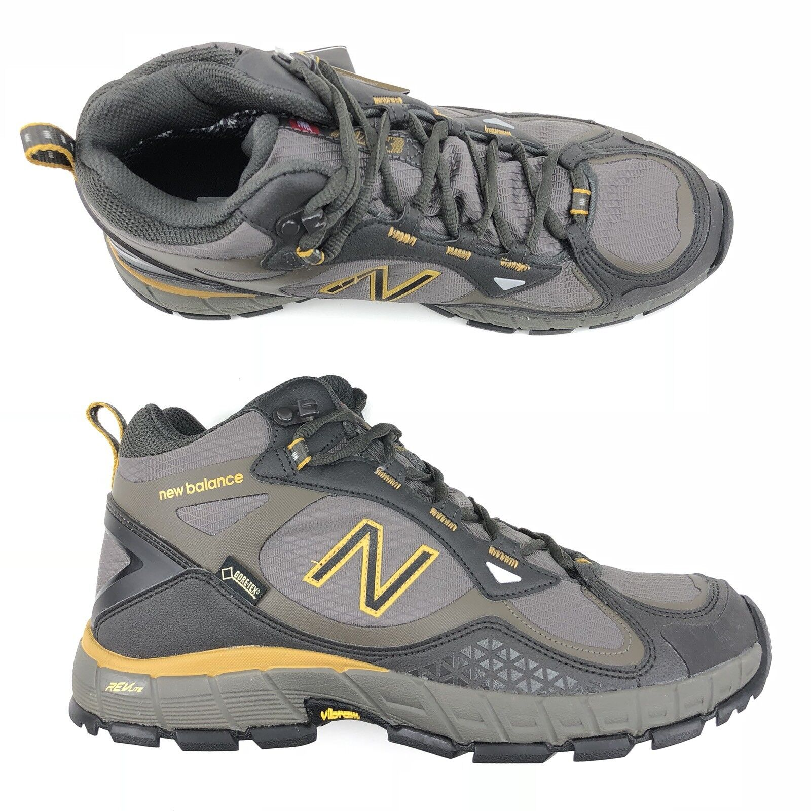 New Balance 703 Hiking Boot GoreTex Vibram Walking Shoe MO703HGT Uomo Size 10 D