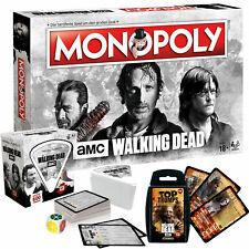 The Walking Dead  AMC Spiele Bundle deutsch Monopoly Trivial Pursuit Top Trumps