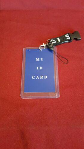 Id card holder Key Chain//Neck Strap