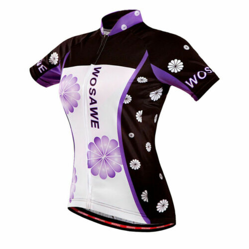 Women Cycling Bike Jersey MTB Bicycle Cycle Shirt Sport Top Breathable Ladies