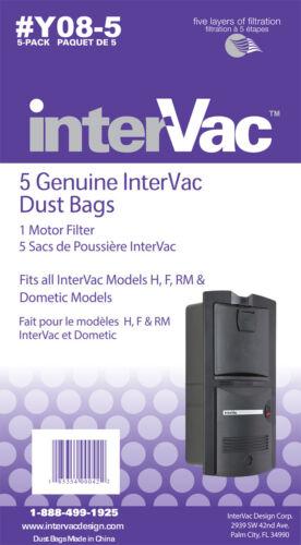 GarageVac Y08-5 Replacement Dust Bag Pack of 5