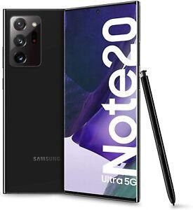 """Samsung Galaxy Note20 Ultra 5G 6.9"""" Dynamic Amoled 12/256GB Mystic NERO GRADO A-"""