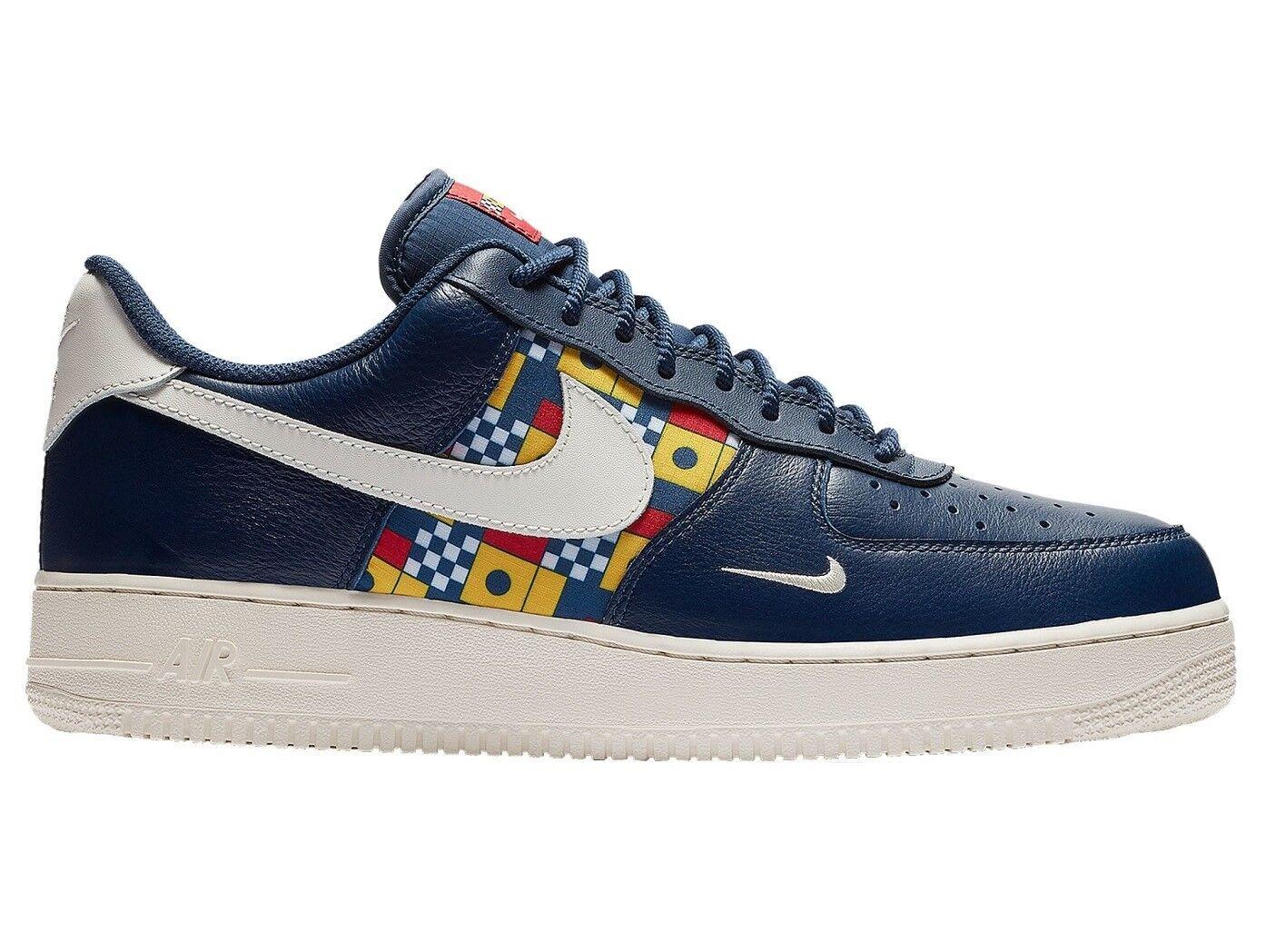 Nike Air Force 1 LV8 Nautical Redux Mens AR5394-400 Navy Sail Shoes Comfortable Seasonal price cuts, discount benefits