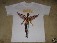 Nirvana In Utero S, M, L, XL, 2XL White T-Shirt