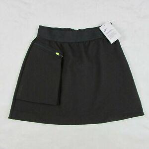 Nike-Women-039-s-Tennis-Skirt-Tech-Pack-Oil-Gray-Black-AR2948-080-Size-Medium