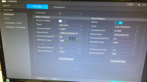 Tribrid 1080P HD-CVI DVR 16CH support analog//1080P CVI//1080P IP camera up to 5MP
