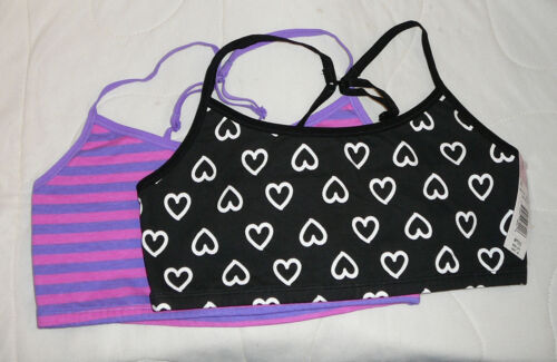 2 Fruit of the Loom Convertible Sports Bra Lounging Straps Racerback 34 36 38