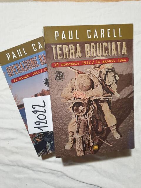 La campagna di Russia TERRA BRUCIATA / OPERAZIONE BARBAROSSA - P. Carell 2 Vol.