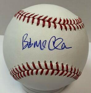 Brewers BOB McCLURE Signed Official MLB Baseball #2 AUTO Royals Cardinals Mets