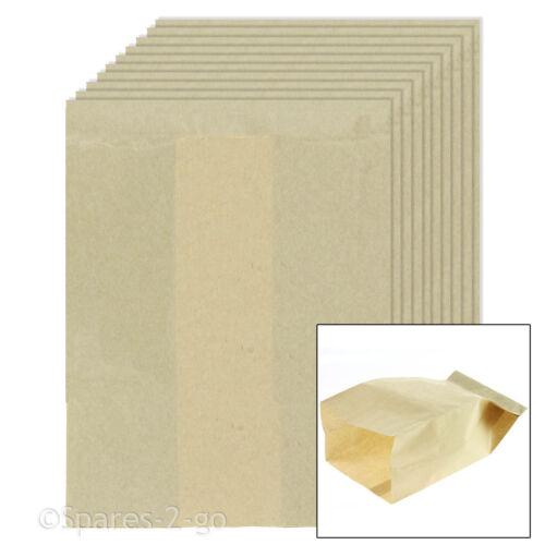 10 x EARLEX COMBIVAC ASPIRAPOLVERE FILTRO HOOVER Sacchetto di carta WD0029 WD1000