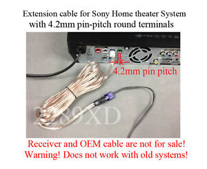 Details zu 12ft speaker extension cable/wire/cord made for select Sony on